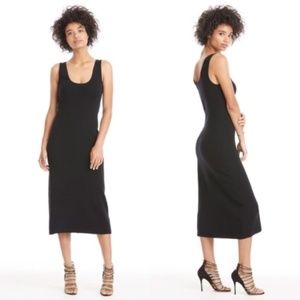 A.L.C. Kaius Knit Midi Dress Black Medium